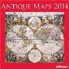 calendario 2014 antique maps 30x30cm-9783832762520