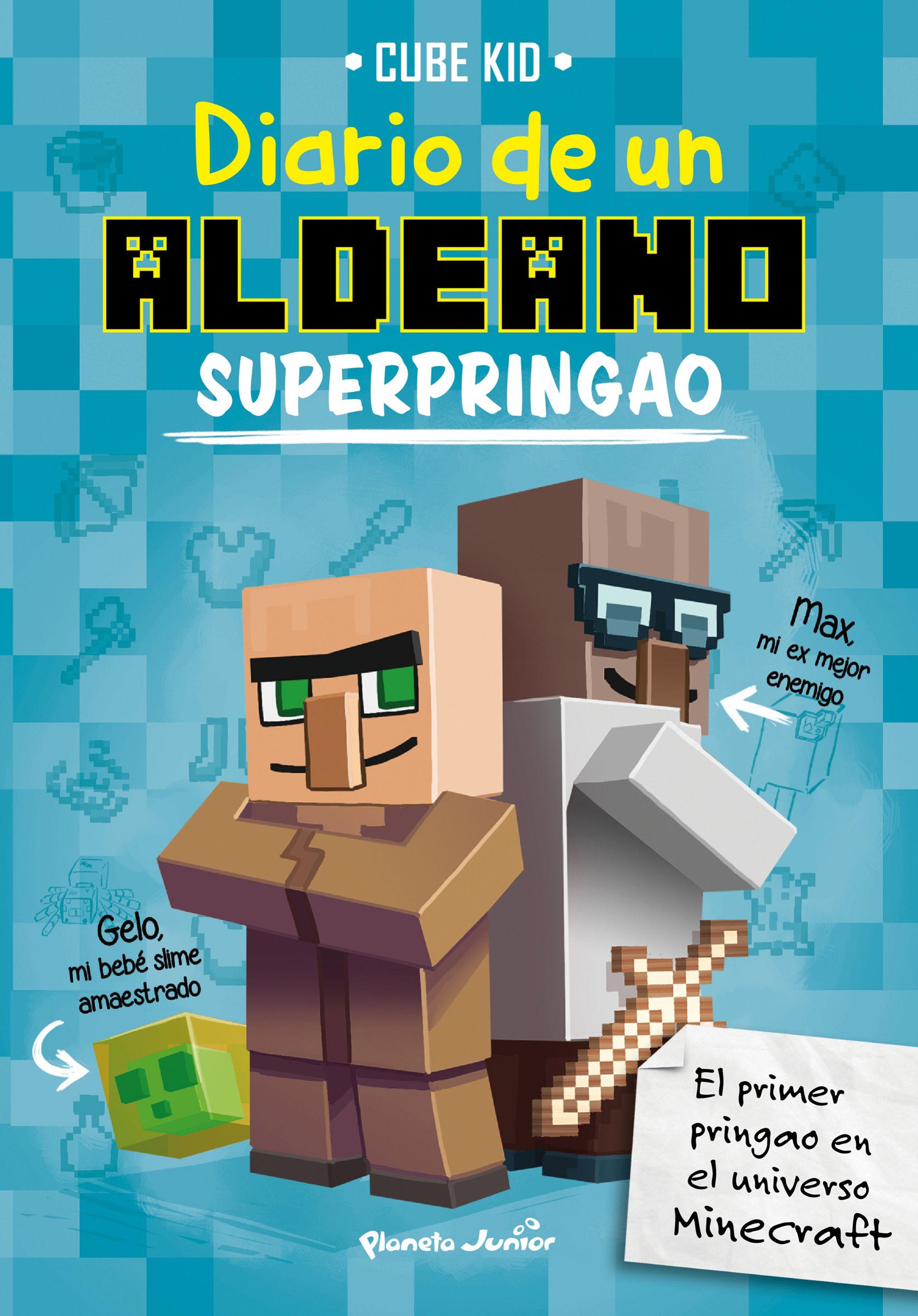MINECRAFT: DIARIO DE UN ALDEANO SUPERPRINGAO | CUBE KID | Comprar ...