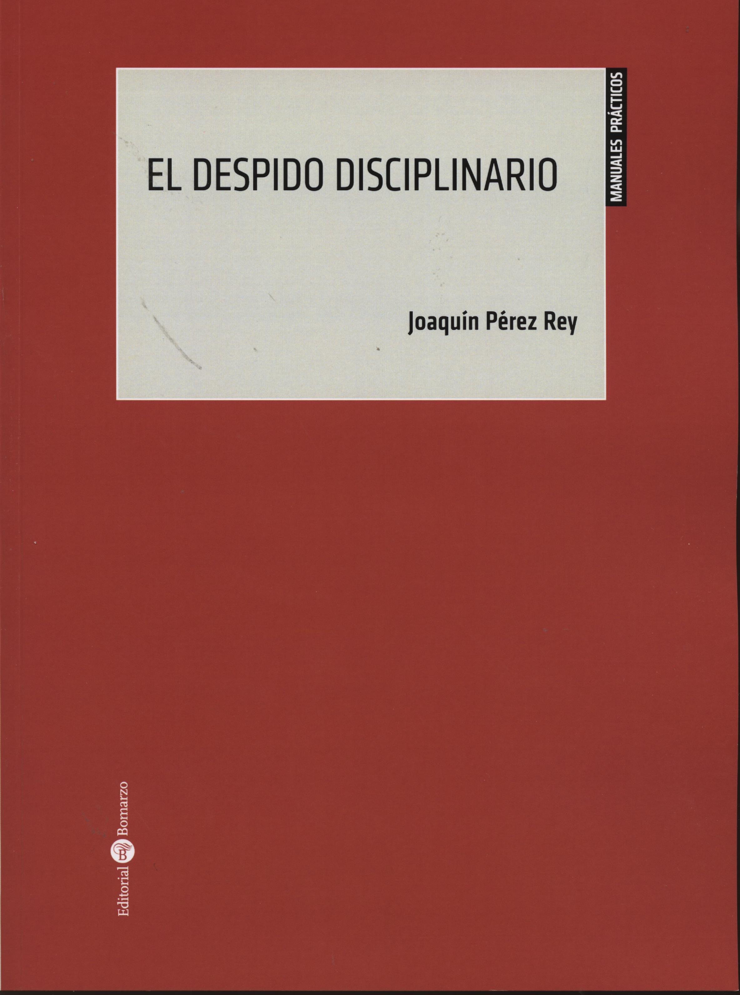 despido disciplinario-joaquin perez rey-9788415923107