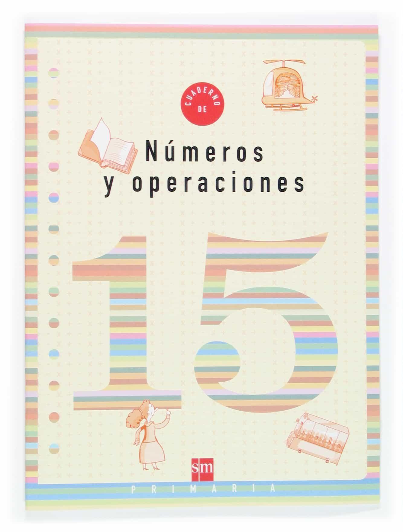 Cuaderno De Numeros 15 (5º Educacion Primaria) por Vv.aa. Gratis
