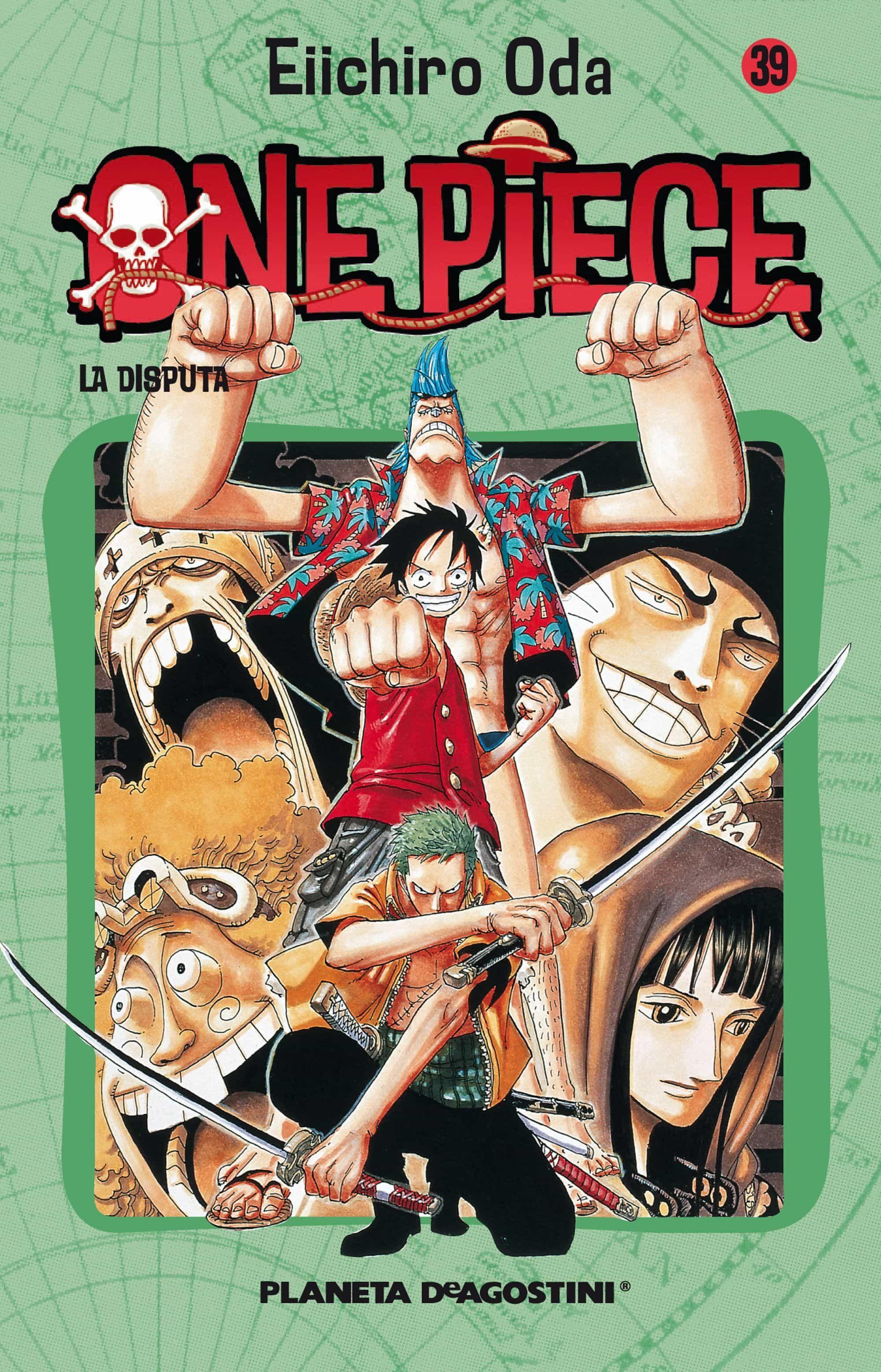one piece nº 39-eiichiro oda-9788468471907