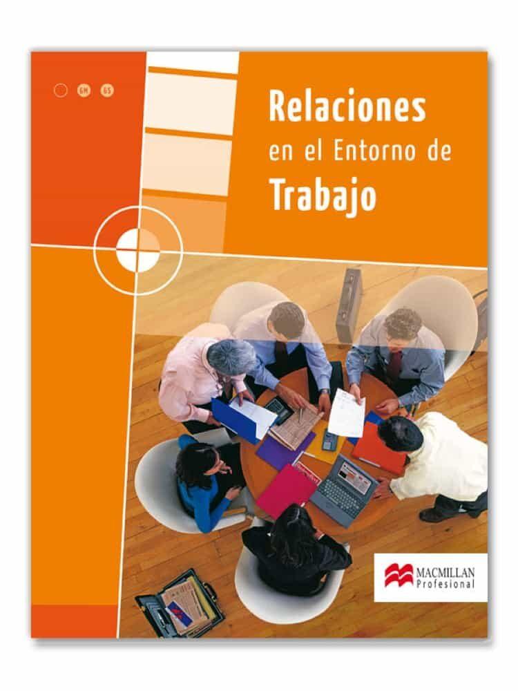 relaciones en el entorno de trabajo (ret)-9788479421007