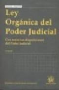 Ley Organica Del Poder Judicial (9º Ed.) por Vv.aa.