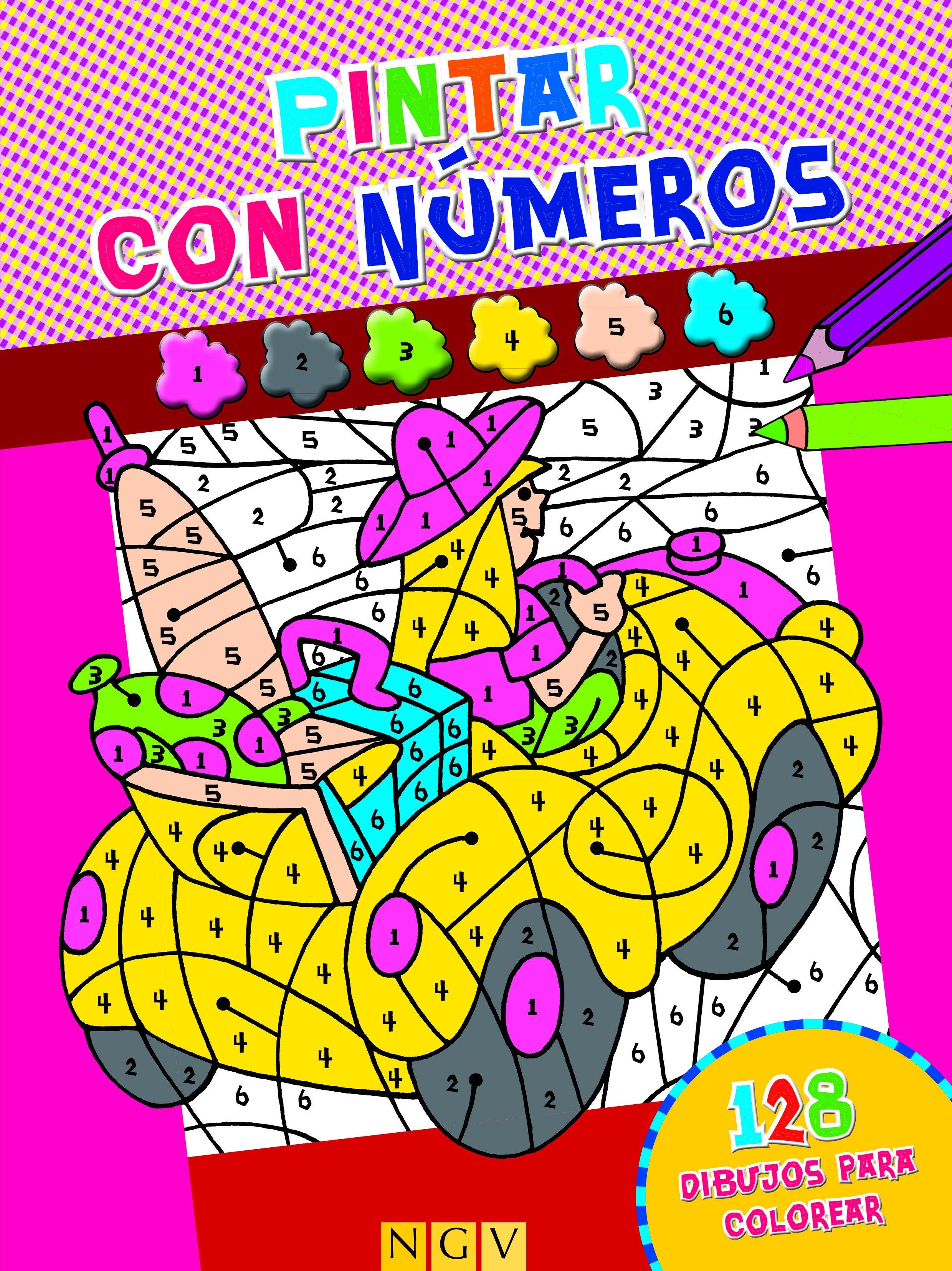 PINTAR CON NUMEROS (ROSA)   VV.AA.   Comprar libro 9783862338917