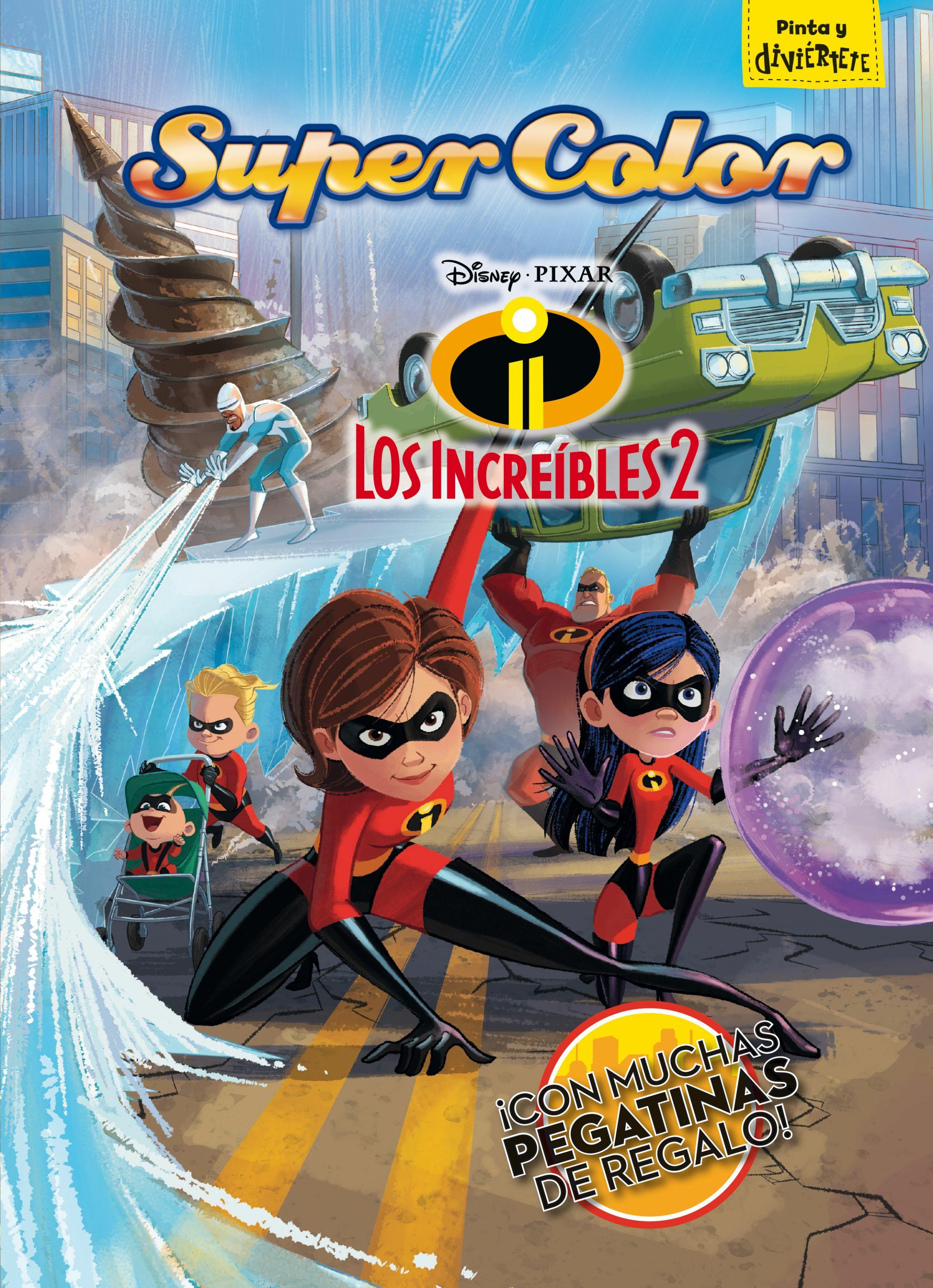 Los Increíbles 2 Supercolor Walt Disney Comprar Libro 9788416917617