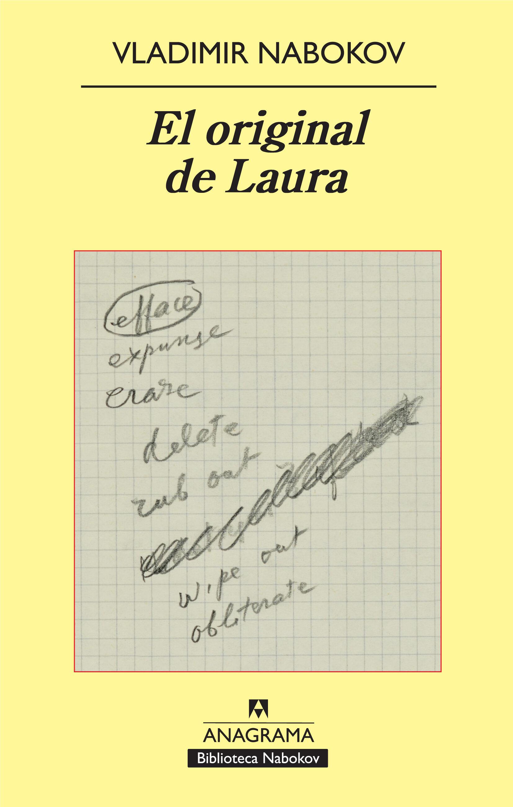 el original de laura-vladimir nabokov-9788433975317