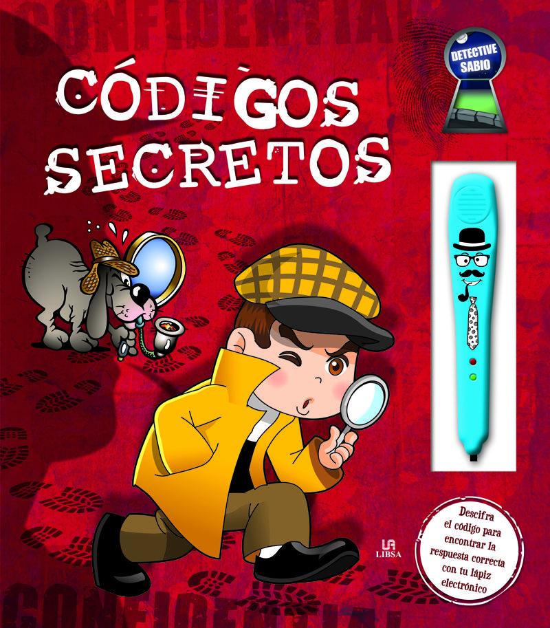 Codigos Secretos Incluye Lapiz Electronico Detective Sabio Vv