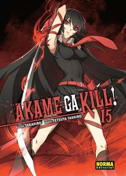 Akame Ga Kill! 15 por Takahiro Kitamura;                                                                                    Tetsuya Tashiro