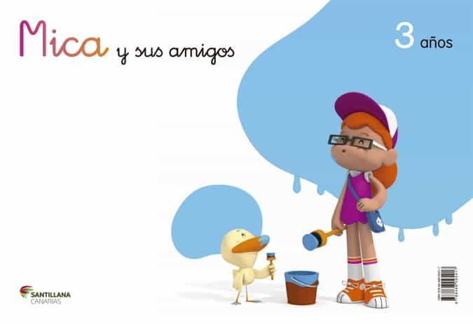 Infantil Mica 3 Años Canarias. por Vv.aa. epub