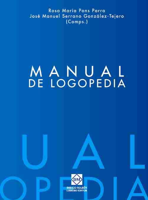Manual De Logopedia por Rosa Maria Pons Parra epub