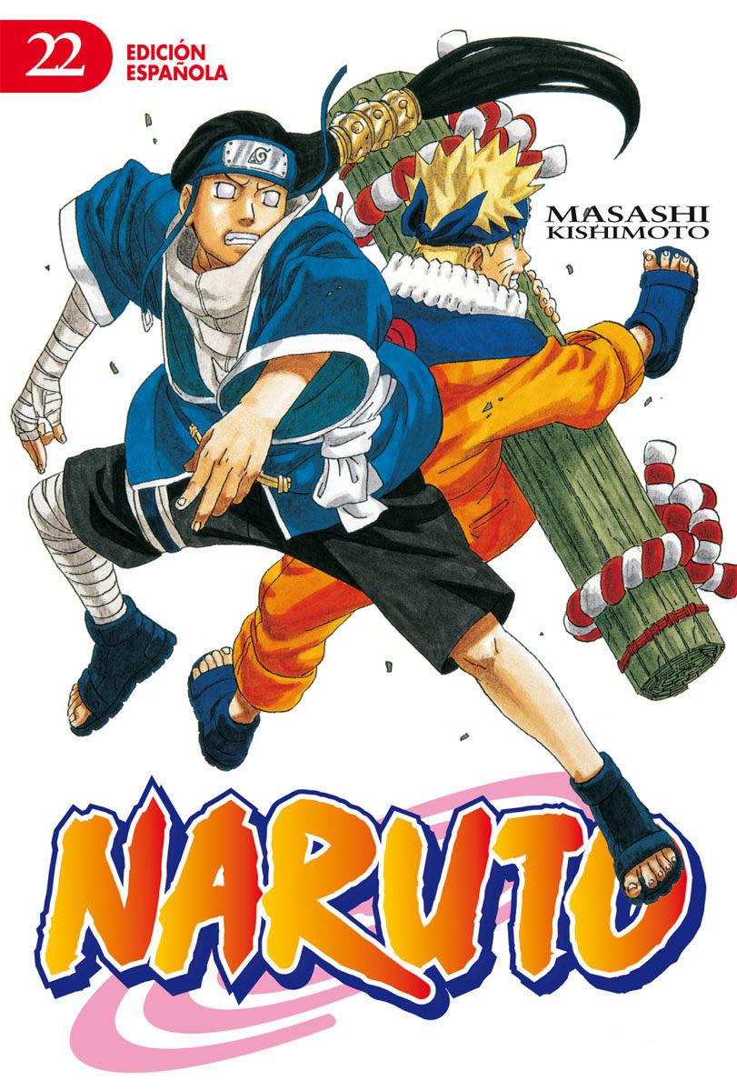 Naruto Nº 22 (de 72)(edt) por Masashi Kishimoto
