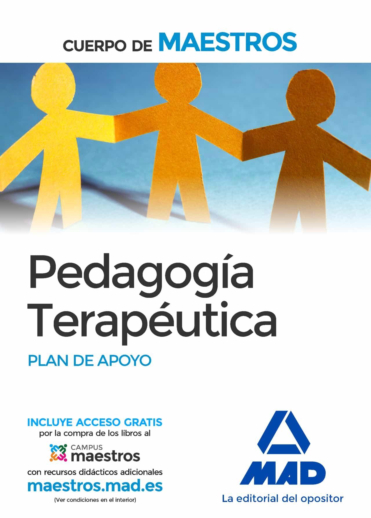 cuerpo de maestros pedagogia terapeutica. plan de apoyo-9788490931417