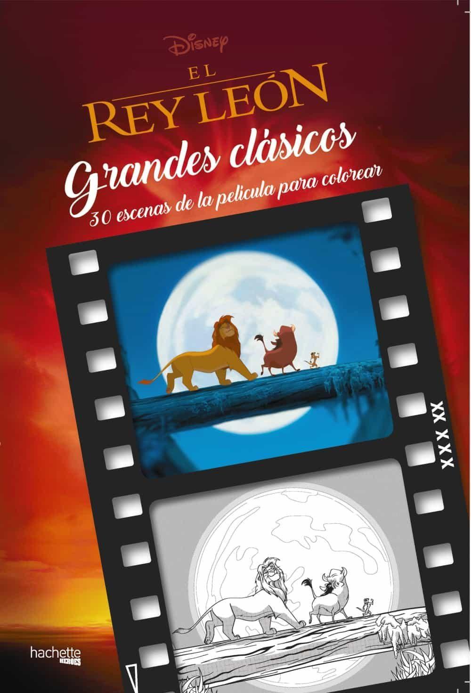 EL REY LEON: GRANDES CLASICOS DISNEY PARA COLOREAR | VV.AA ...