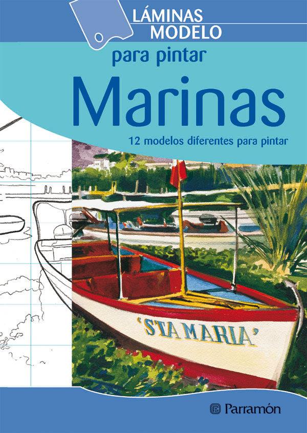LAMINAS MODELO PARA PINTAR MARINAS (12 MODELOS)   VV.AA.   Comprar ...