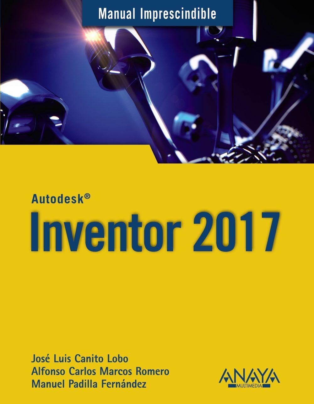 Resultado de imagen para Manual imprescindible Inventor 2017