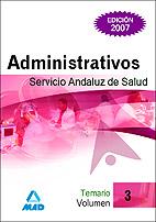 Administrativos Del Servicio Andaluz De Salud. Sas. Temario (vol. Iii) por Vv.aa. Gratis