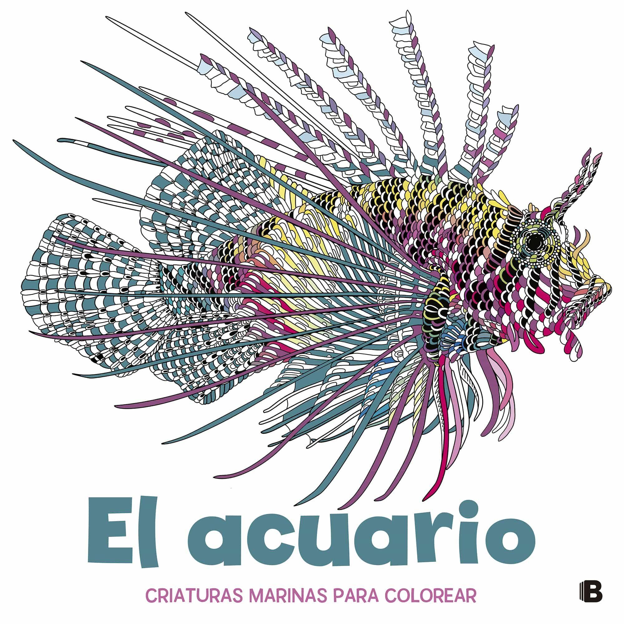 EL ACUARIO: CRIATURAS MARINAS PARA COLOREAR | MERRITT | Comprar ...