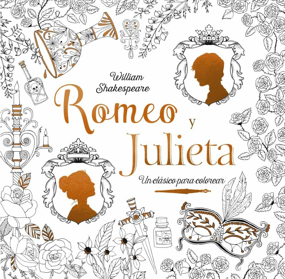 ROMEO Y JULIETA: CLASICOS PARA COLOREAR | WILLIAM SHAKESPEARE ...