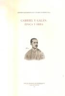 Gabriel Y Galan: Epoca Y Obra por Antonio Salvador Plans epub