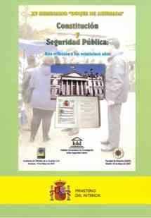 Constitucion Y Seguridad Publica: Una Reflexion A Los Veinticinco Años (xv Seminario Duque De Ahumada) por Vv.aa. epub