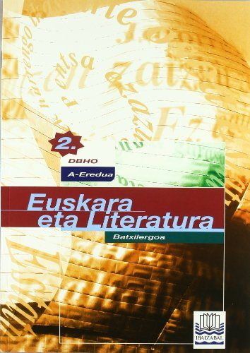 euskara eta literatura 2.batxillergoa-9788483252727