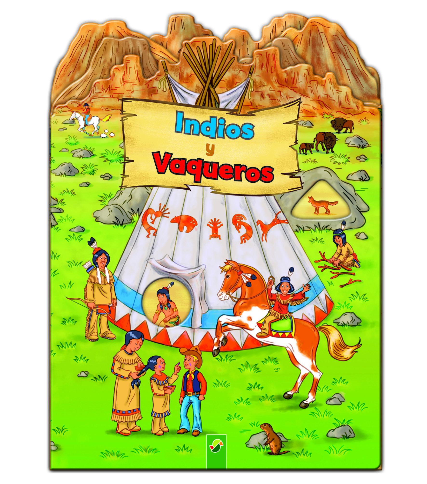 INDIOS Y VAQUEROS | VV.AA. | Comprar libro 9783862338337
