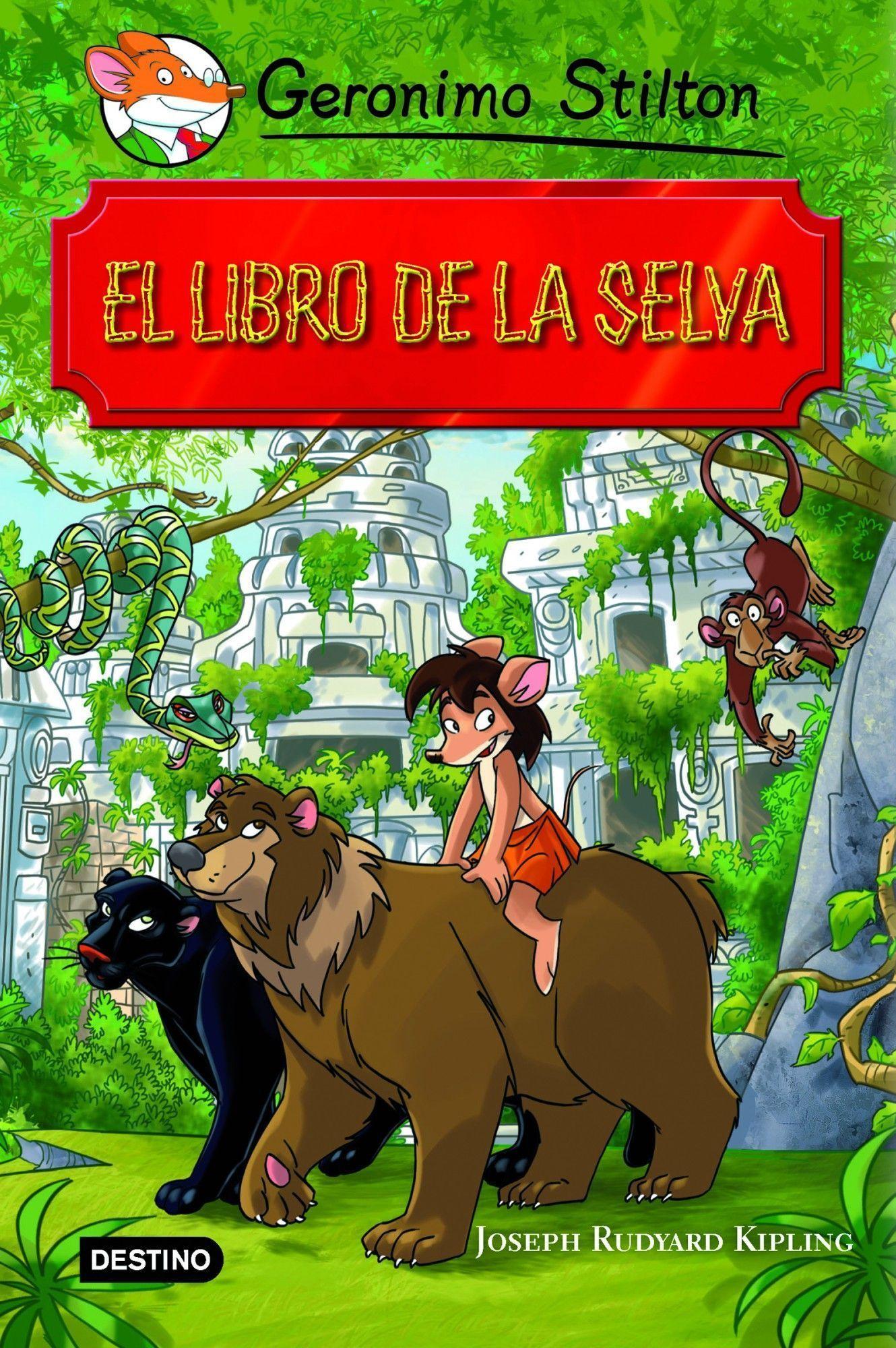grandes historias : el libro de la selva-geronimo stilton-9788408102137