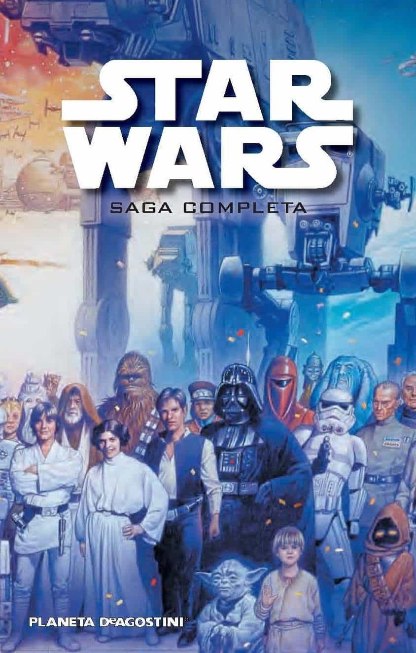 star wars la saga completa  vvaa  comprar libro