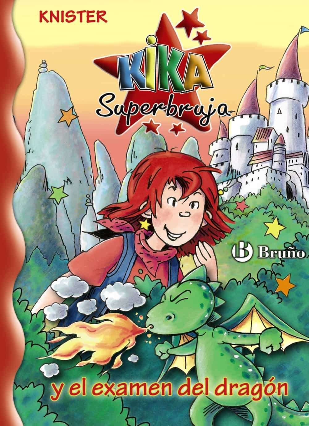 Resultado de imagen de fotos de kika superbruja y el examen del dragón
