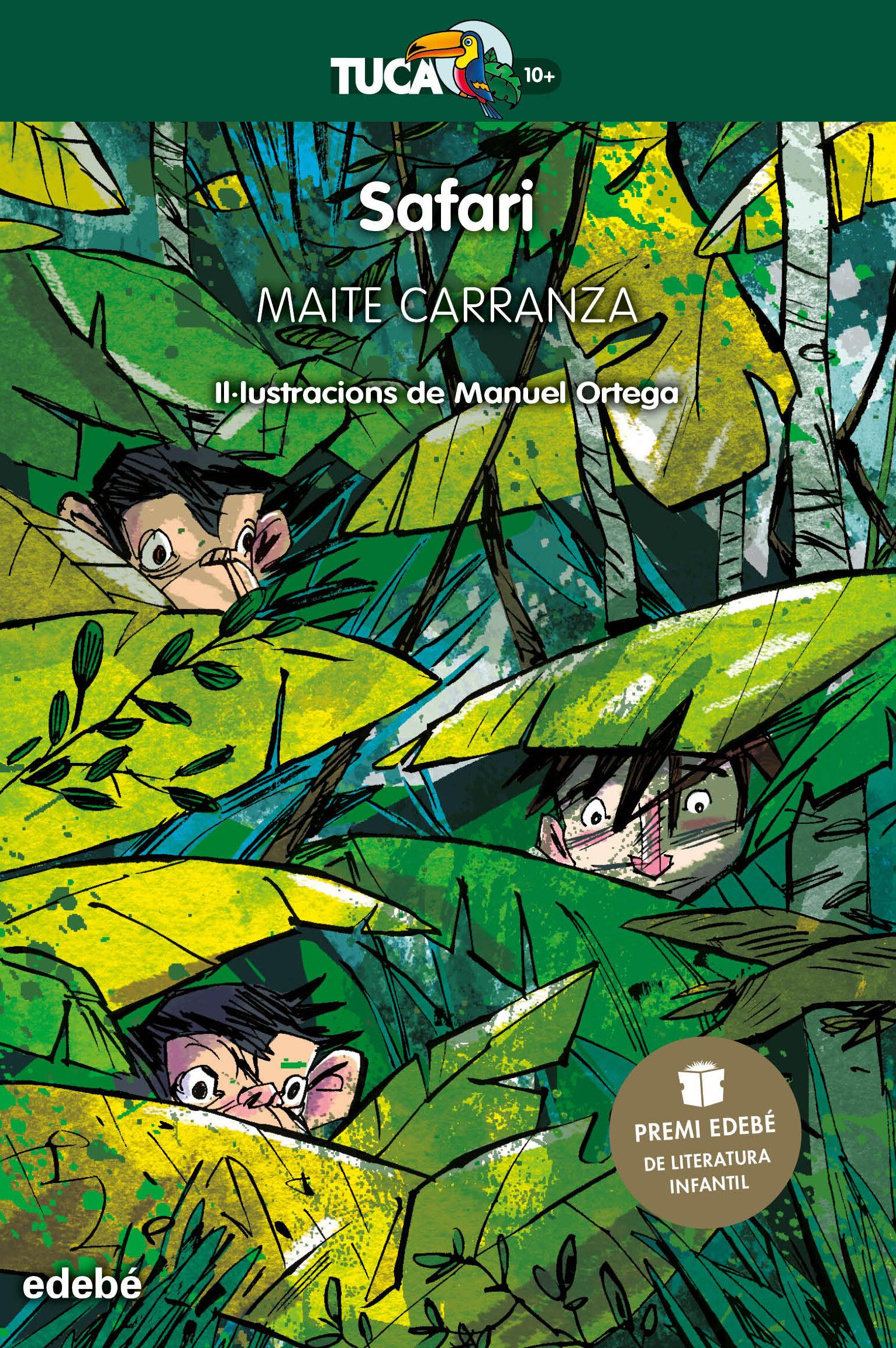 safari (catalan) (premio edebe de literatura infantil)-maite carranza-9788468343037