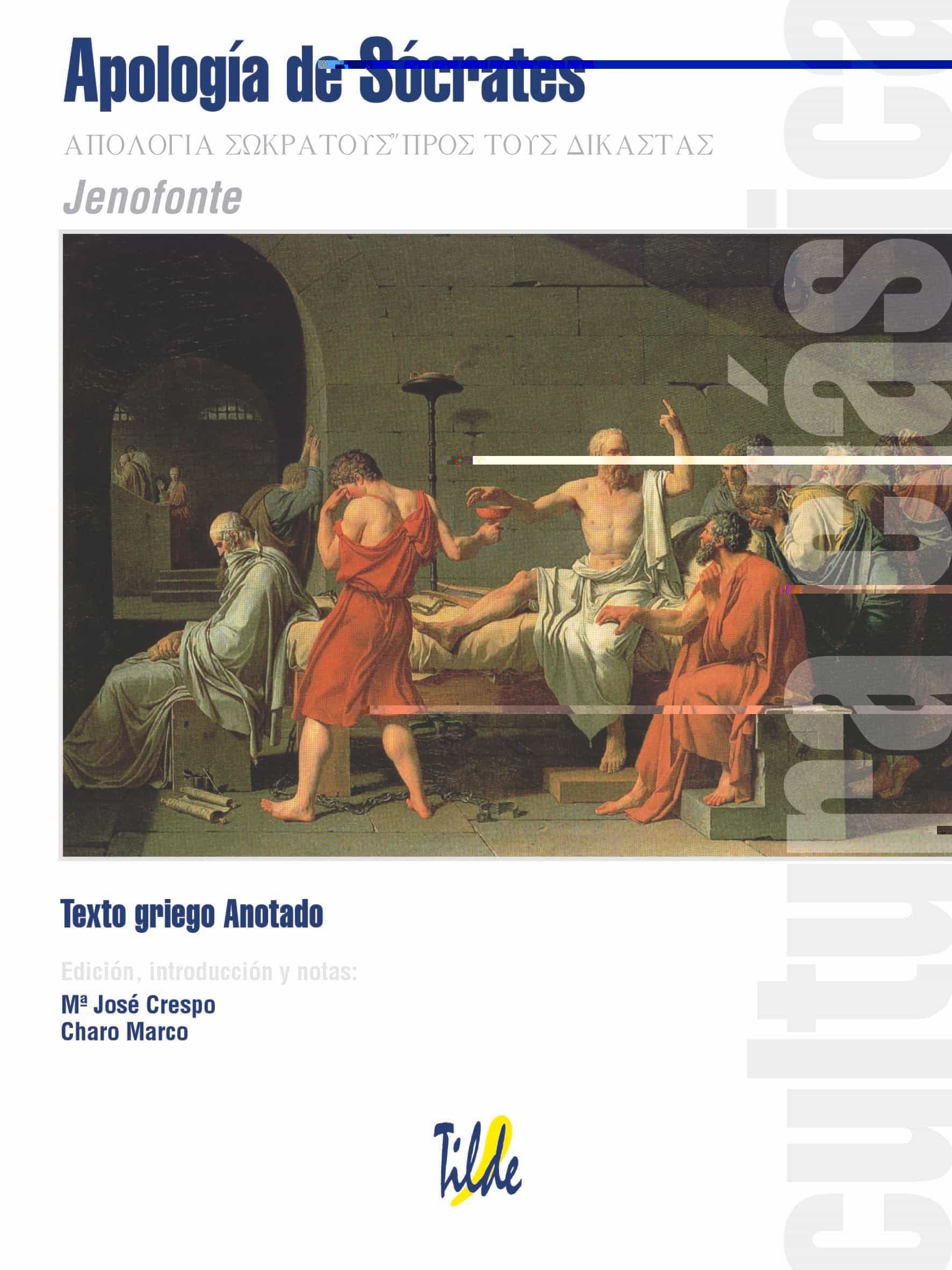 Apologia De Socrates por Jenofonte
