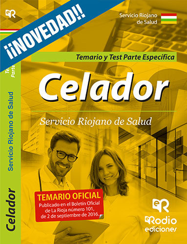 Celadores Del Servicio Riojano De Salud: Parte Especifica Temario Y Test por Vv.aa.