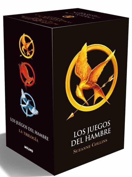trilogia los juegos del hambre (estuche): los juegos del hambre; en llamas; sinsajo-suzanne collins-9788427200647