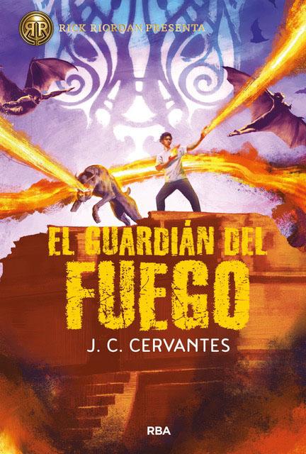 el hijo del trueno 2. el guardián del fuego-j. c. cervantes-9788427219847