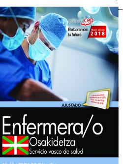 oposiciones osakidetza. servicio vasco de salud enfermero/a-9788468190747