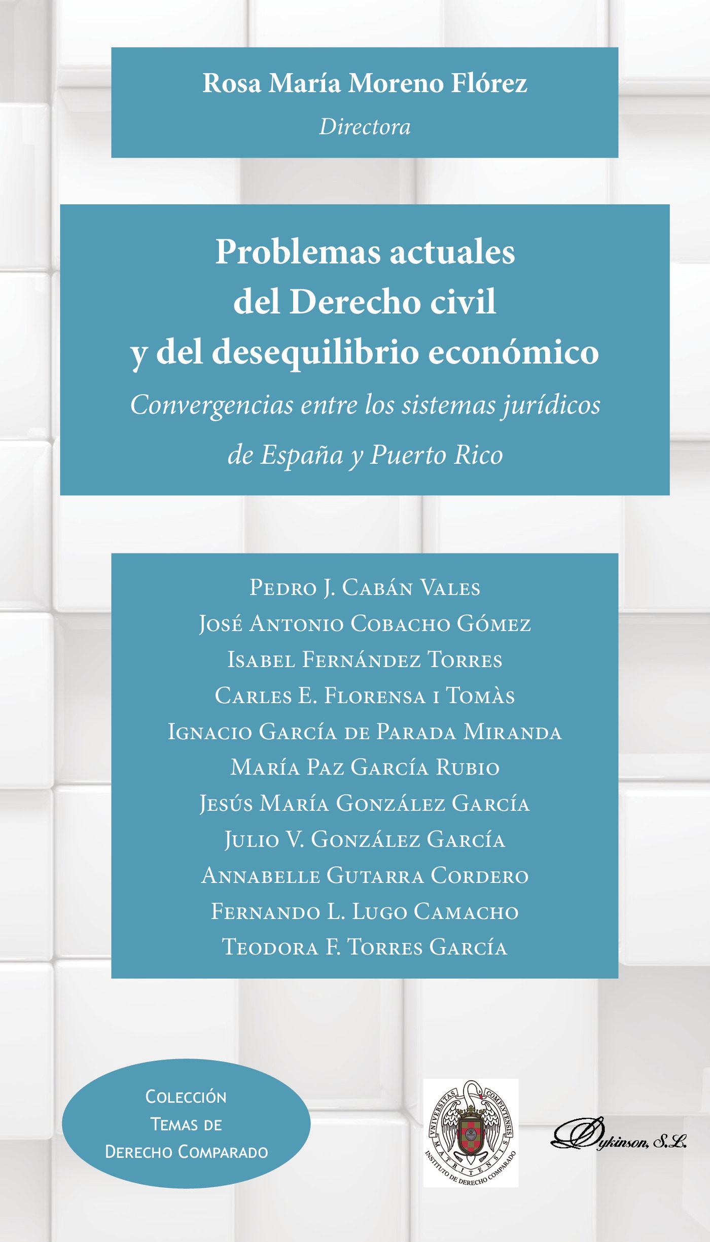Problemas Actuales Del Derecho Civil Y Del Desequilibrio