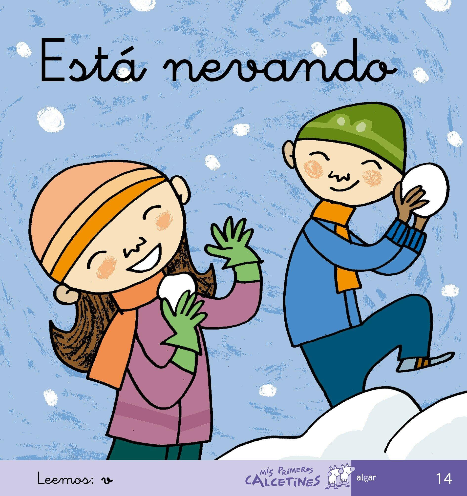 Esta Nevando (mis Primeros Calcetines; 14) (cursiva) por Teresa Soler Gratis