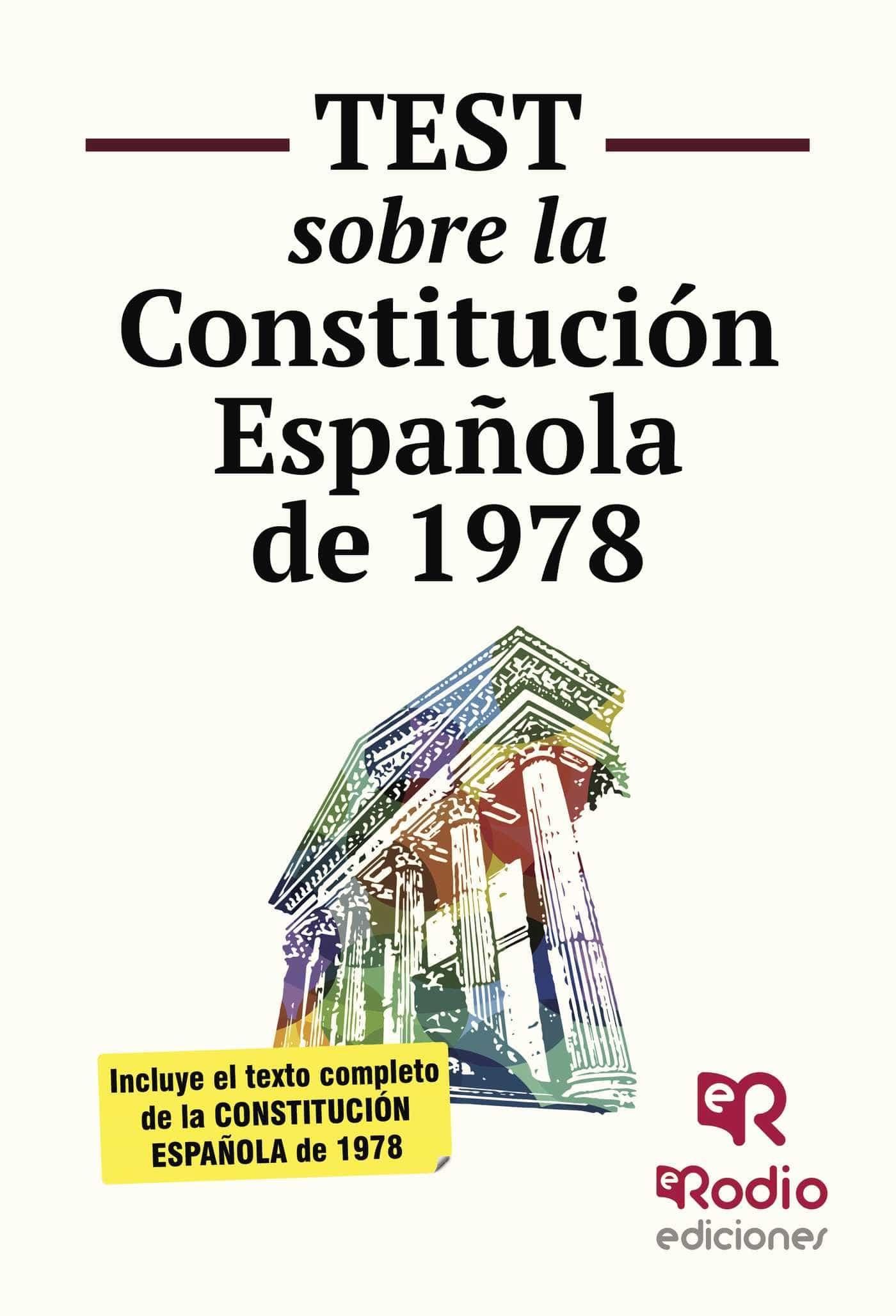 Test Sobre La Constitución Española   por Vv.aa.