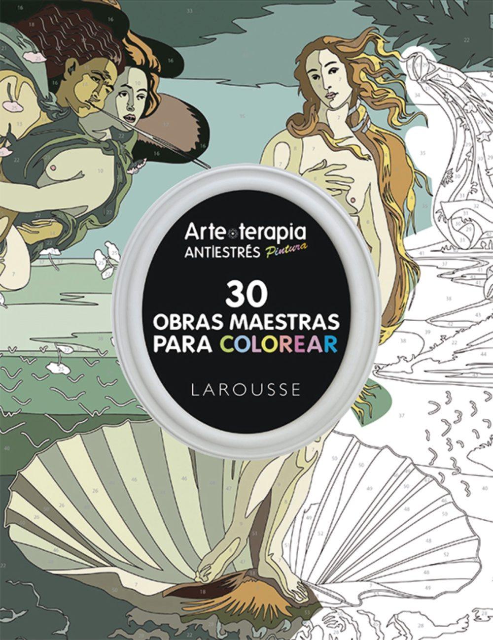ARTE-TERAPIA 30 OBRAS MAESTRAS PARA COLOREAR   VV.AA.   Comprar ...