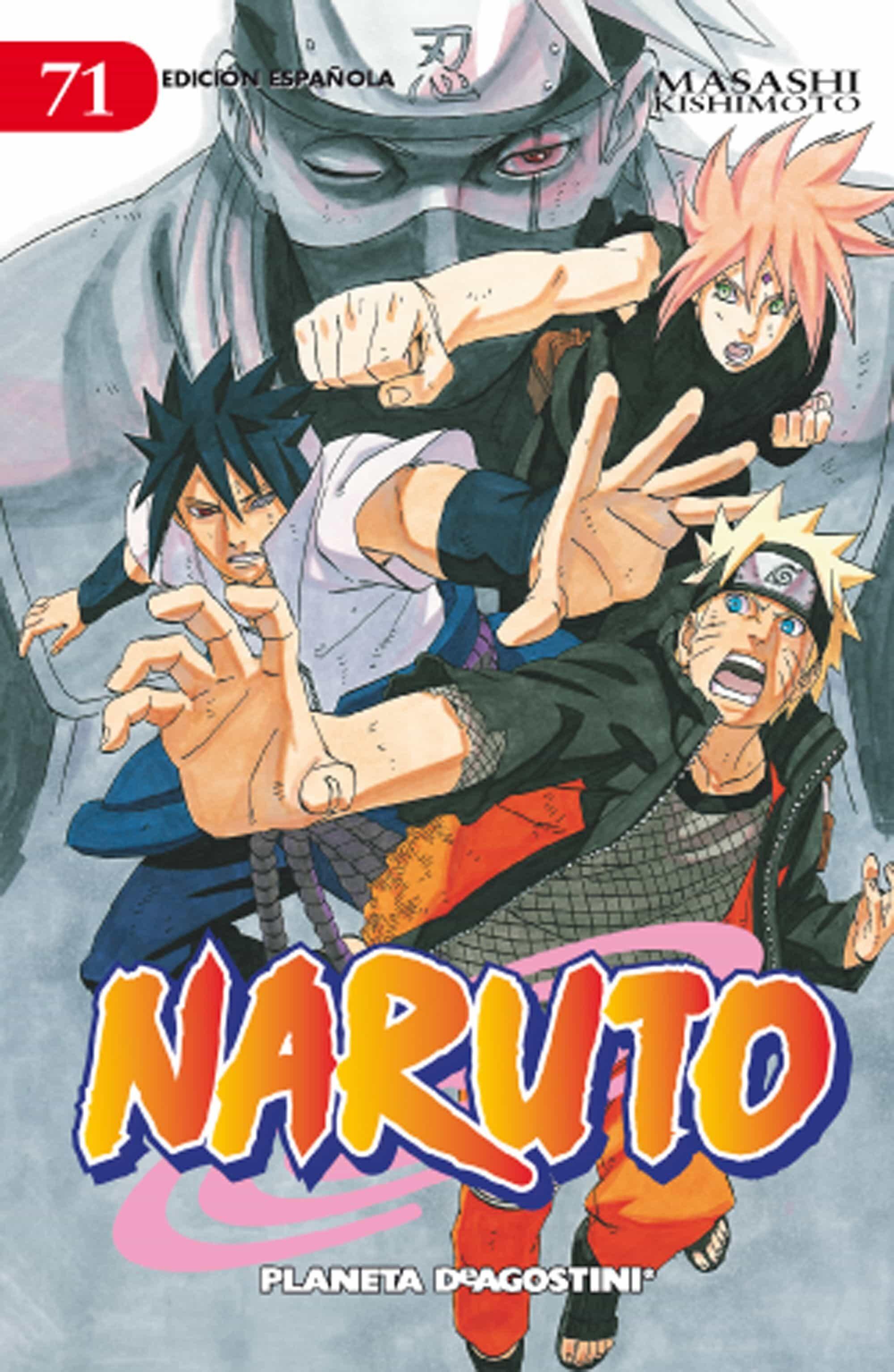 PDF Gratis Naruto Nº 71 (de 72) (pda)