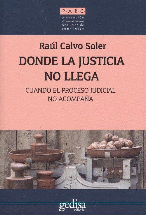 donde la justicia no llega: cuando el proceso judicial no acompaña-raul calvo soler-9788416919857