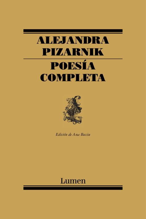 poesia completa-alejandra pizarnik-9788426428257
