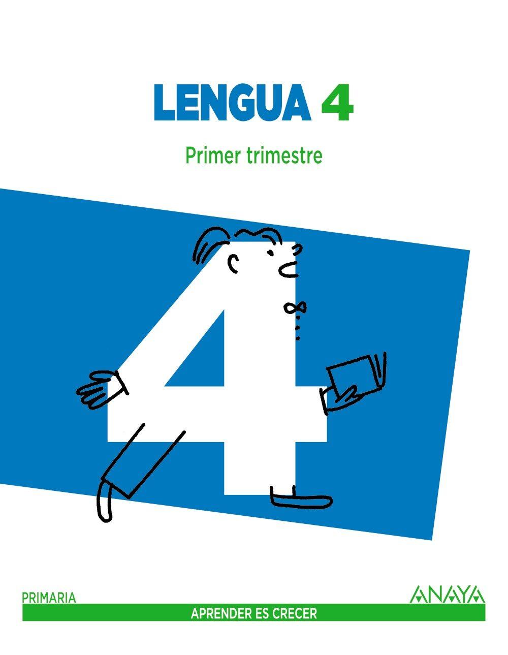 LENGUA 4º EDUCACION PRIMARIA APRENDER ES CRECER MEC | VV.AA ...