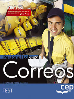 Personal Laboral Correos Test por Vv.aa.