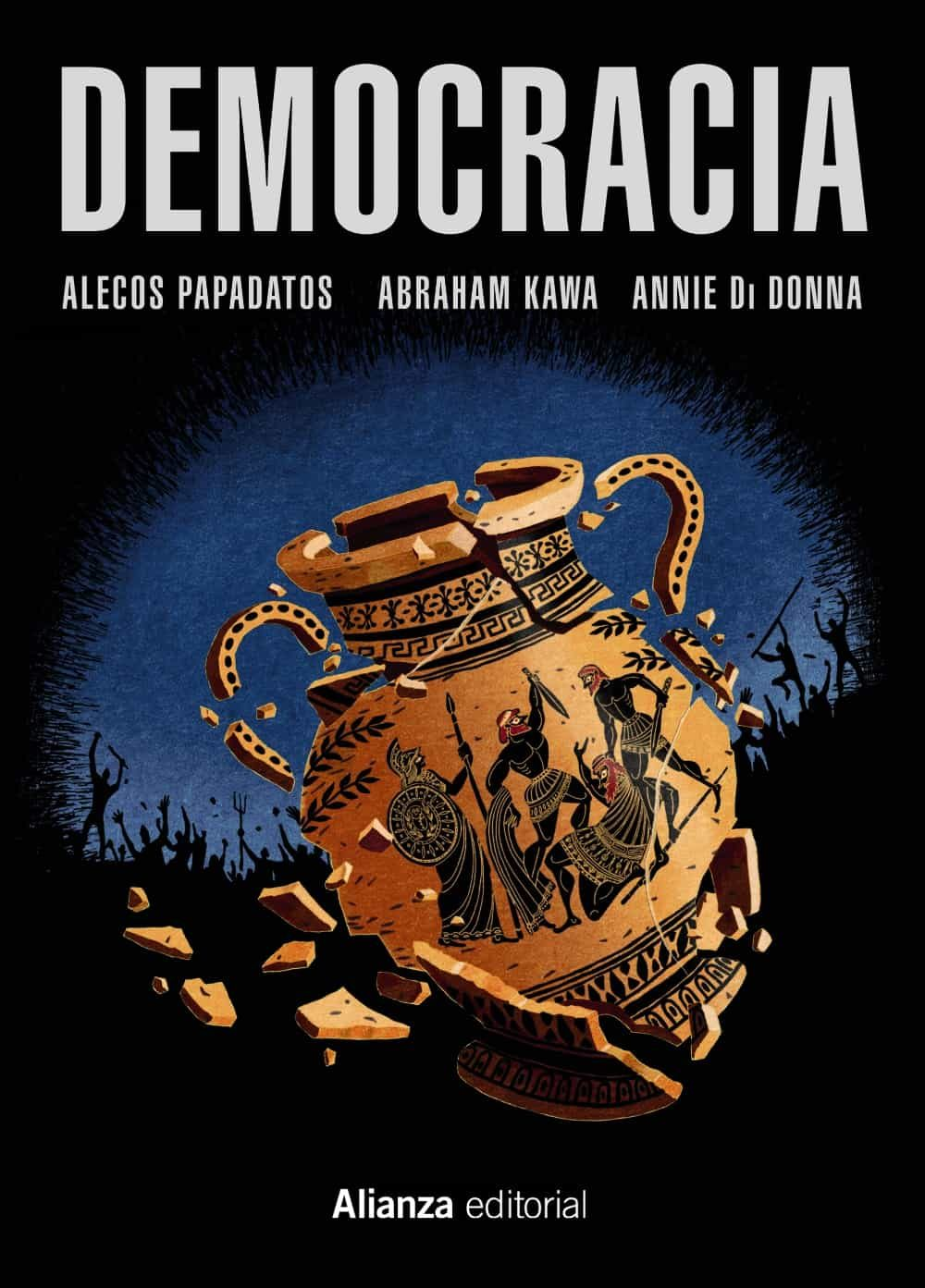 democracia (comic)-alecos papadatos-abraham kawa-9788491043157
