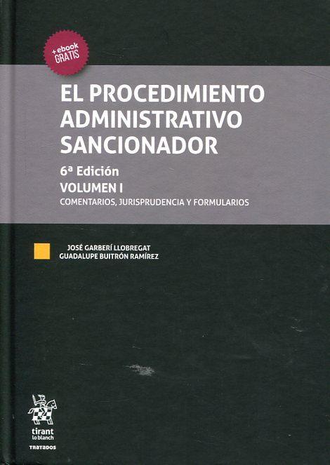 El Procedimiento Administrativo Sancionador 6ª Ed 2 Vols por Jose Garberi Llobregat epub