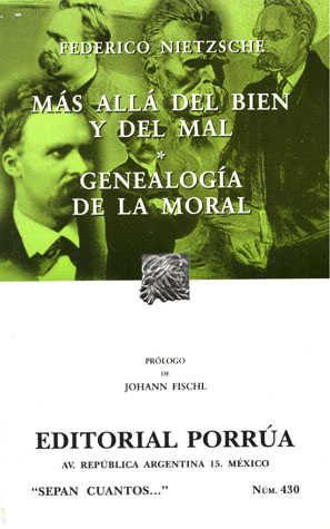 Mas Alla Del Bien Y El Mal; Genealogia Moral (7ª Ed.) por Friedrich Nietzsche epub