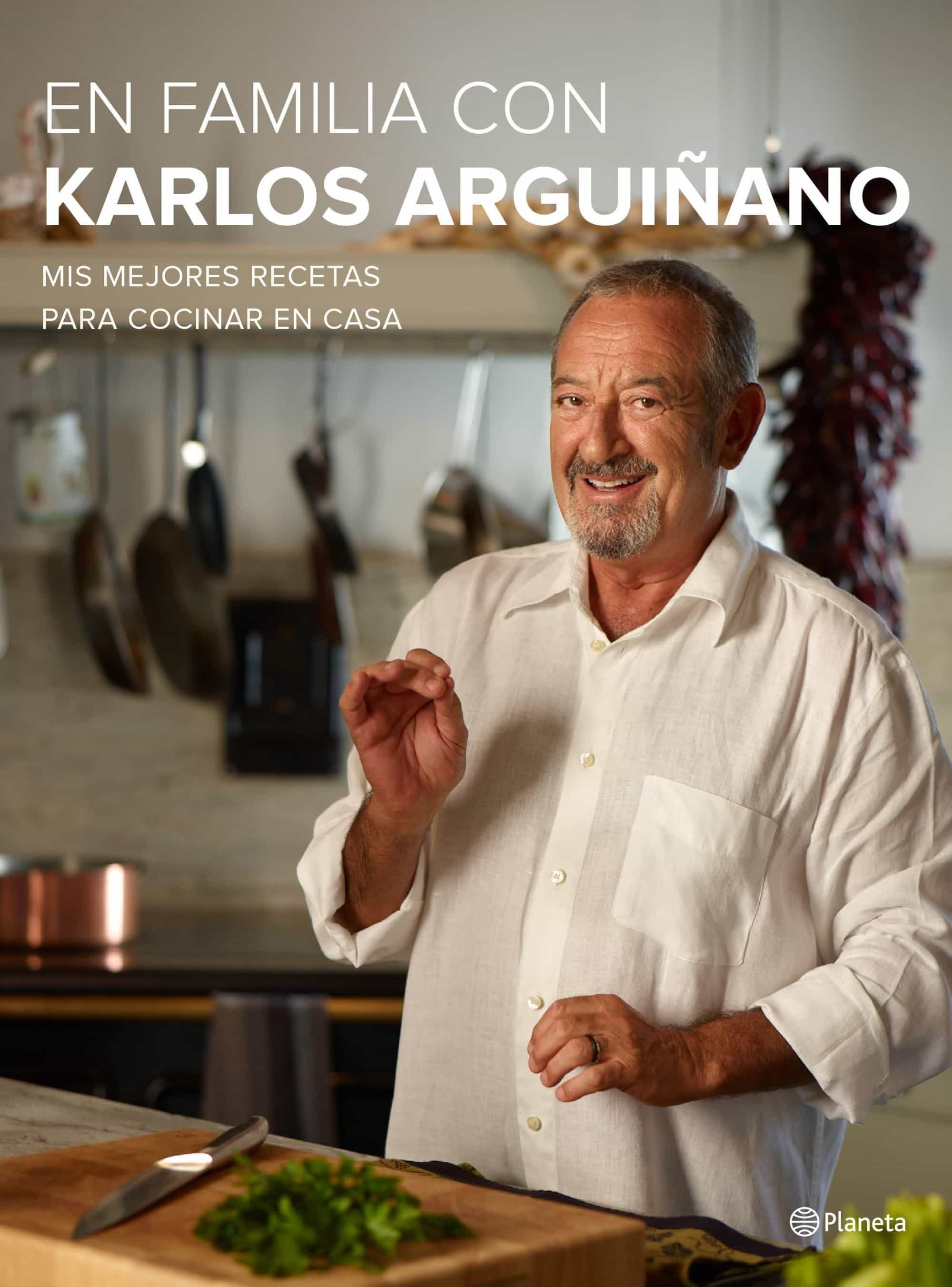 en familia con karlos arguiñano-karlos arguiñano-9788408133667