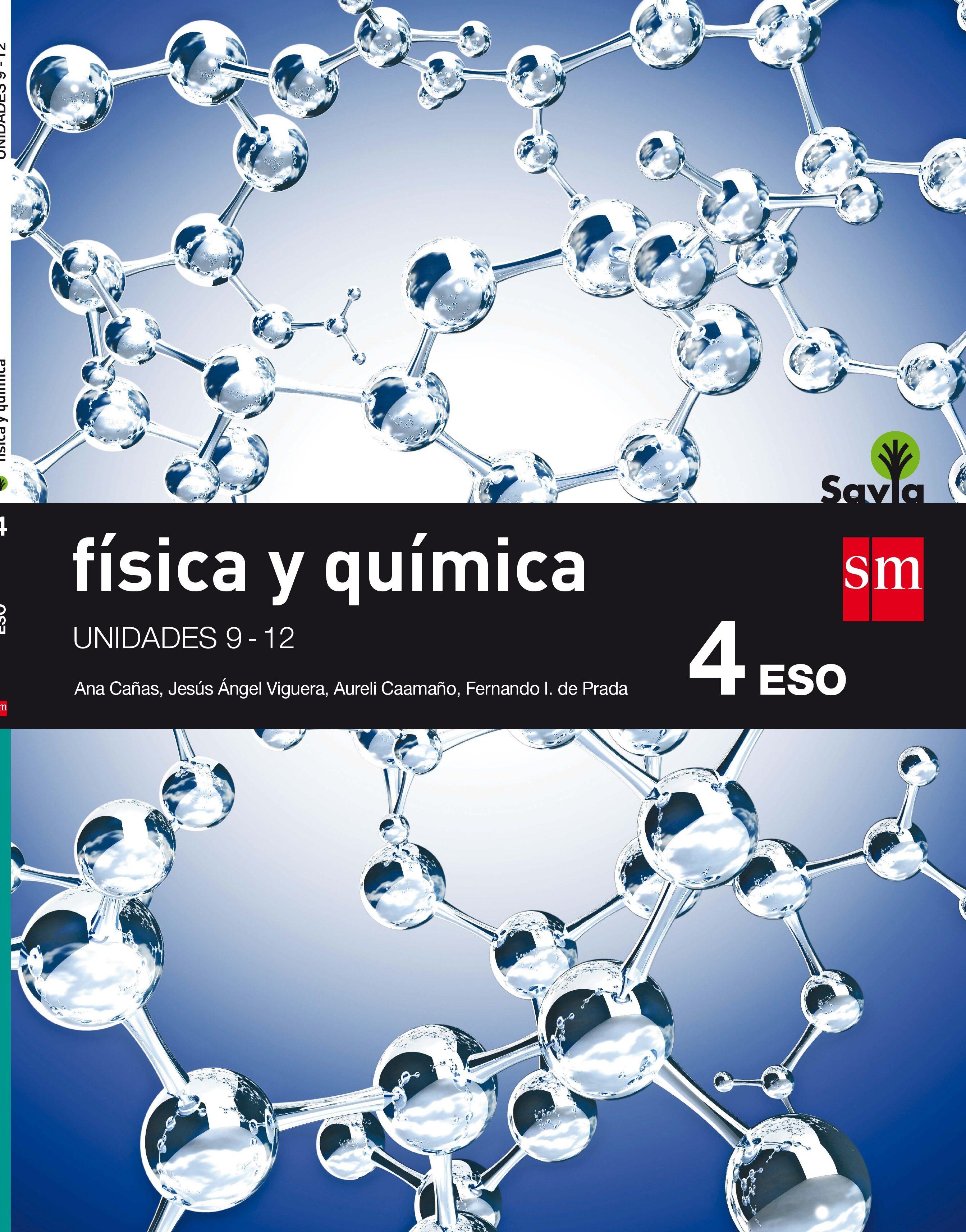 FÍSICA Y QUÍMICA TRIMESTRES 4º ESO SAVIA 16 | VV.AA. | Comprar libro ...