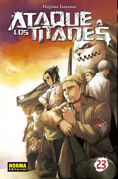 Ataque A Los Titanes 23 por Hajime Isayama
